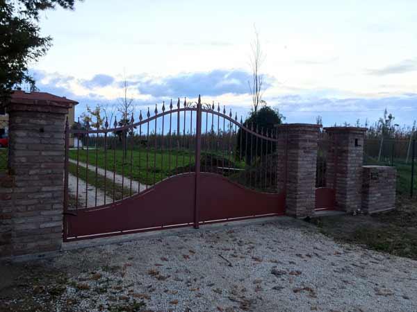 Montaggio-cancello-personalizzato-faenza